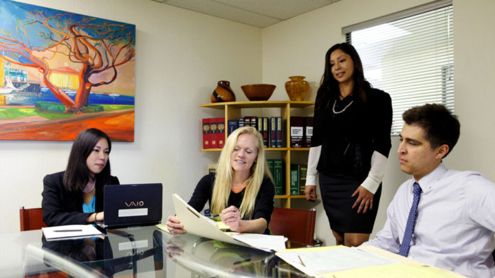 What Makes Lucy Mcallister A Competent Lawyer?